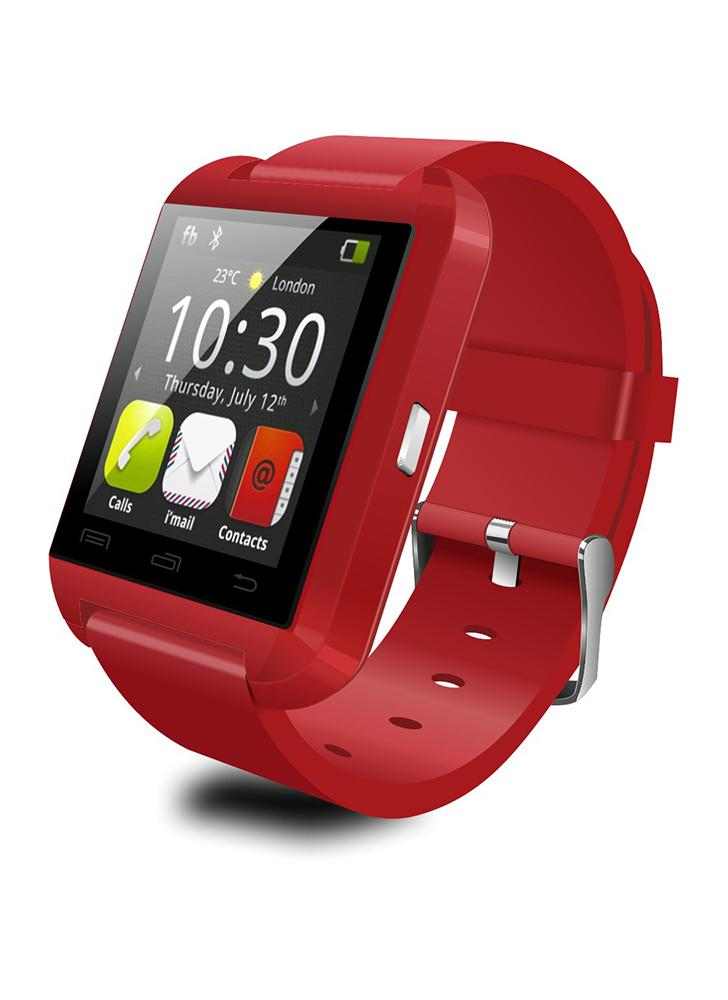 2G Smart Uhr MTK6261 1.44in LCD Touchscreen BT 3.0 Schrittzähler Nachricht Stoppuhr Kalender Sitzende Erinnerung Smartwatch für Android 3.0