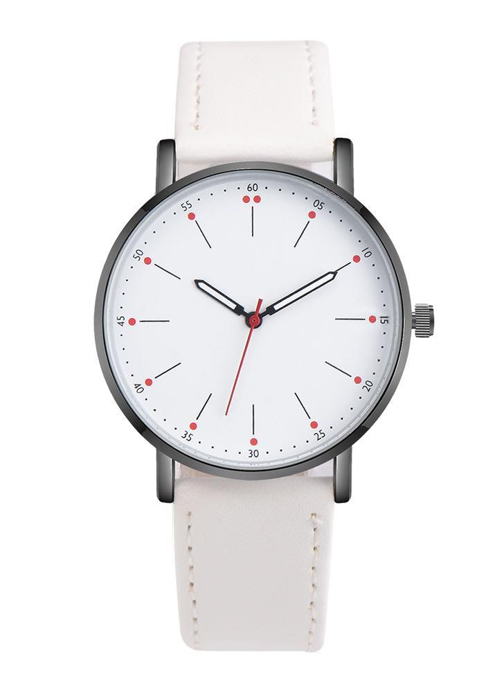 6f7ea23da34 OKTIME New Fashion Retro Minimal Design Analog Alloy Quartz Casual Watch