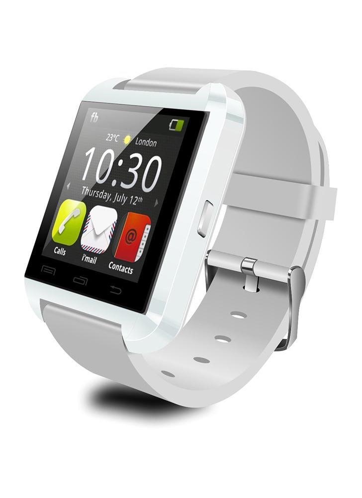 2G Smart Watch MTK6261 1.44in LCD Touch Screen BT 3.0 Pedometer Message Stopwatch Calendar Sedentary Reminder Smartwatch for Android 3.0