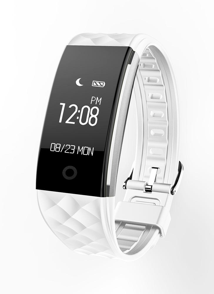 "Smart Wristband 0.96 ""OLED Touch Screen BT 4.0 Sleep / Monitor de frequência cardíaca Pedometer Smart Bracelet"
