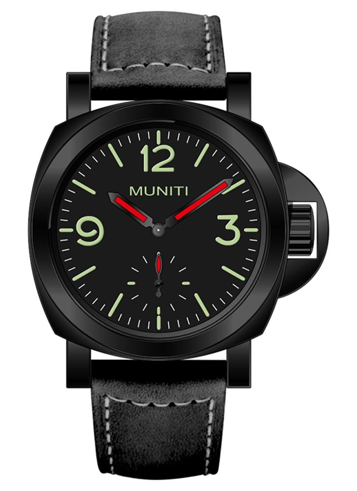 MUNITI Fashion Sport Men Watch Life Water-resistant Quartz Man Wristwatch