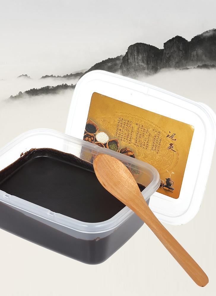 200g Wax Mud Moxibustion Chinese Herbal Medicine Health Physiotherapy Wax Mud Volcanic Mud Massage Health Care