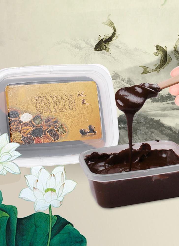 200g Remo de Cera Moxabustão Medicina Herbal Chinesa Fisioterapia Saúde Remo de cera Mangueira de lama vulcânica Cuidados de saúde