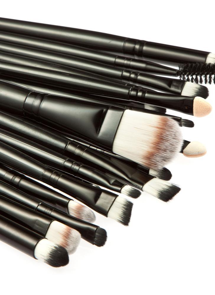 Conjunto de escovas de maquiagem facial profissional de 20pcs