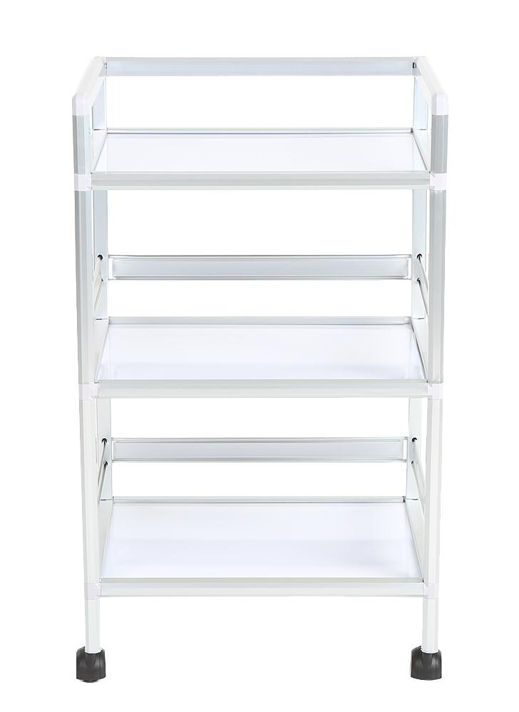 Storage Trolley 3 Layers Barber Beauty Drawers Hair