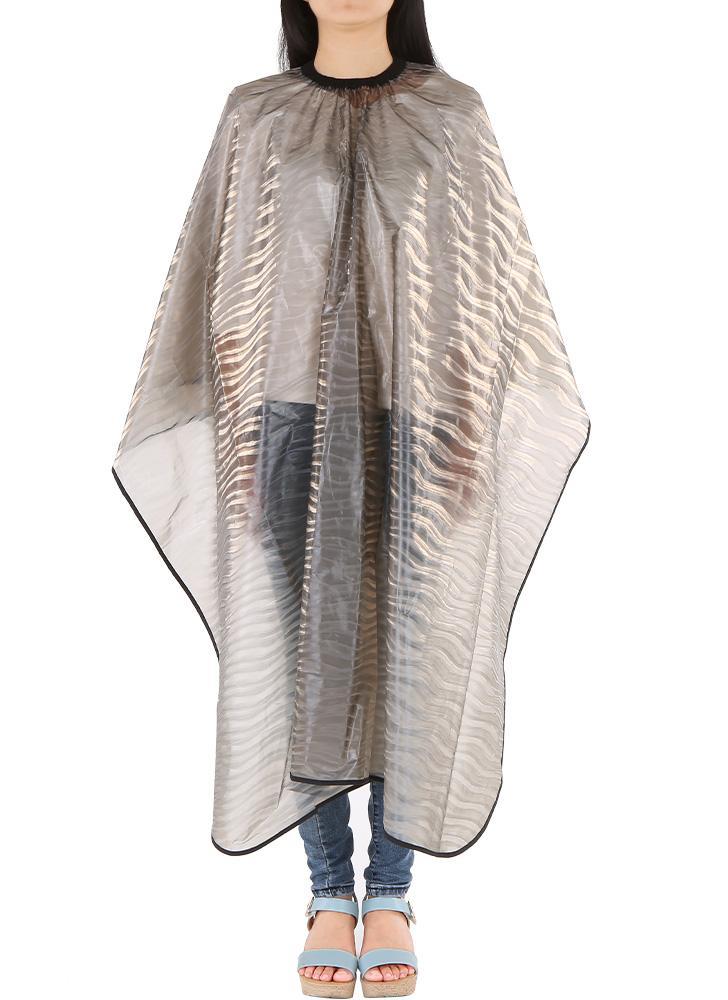 Waterproof coiffure Tablier Cape Hair Cloth Shampoo robe de coupe de cheveux Coloration Teinture Perming Cloth Cap coiffure