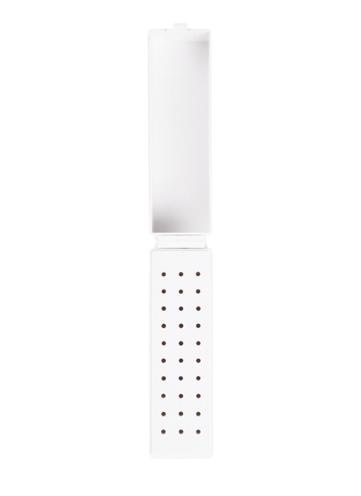 Sostenedor de brocas de uñas 30 agujeros Dental Bur Display Stander de uñas plásticas Accesorio dental Contenedor de manicura Uñas Art Tool