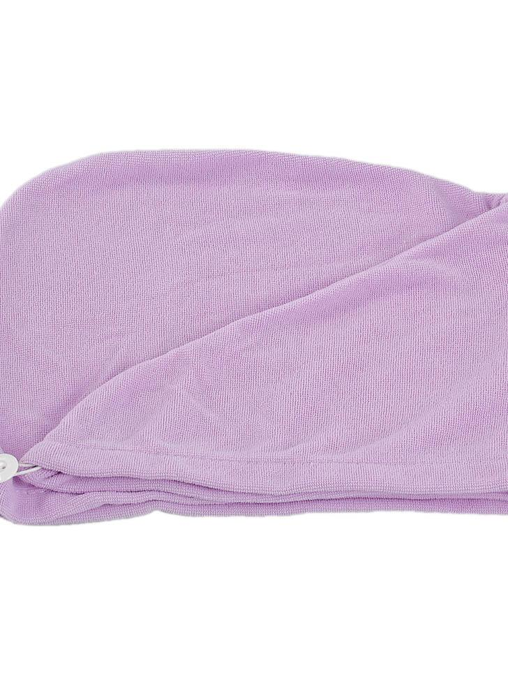 Toallas de secado rápido para el cabello Toalla absorbente para el agua Toallita de ducha para baño para todos los tipos y longitudes de cabello Color aleatorio