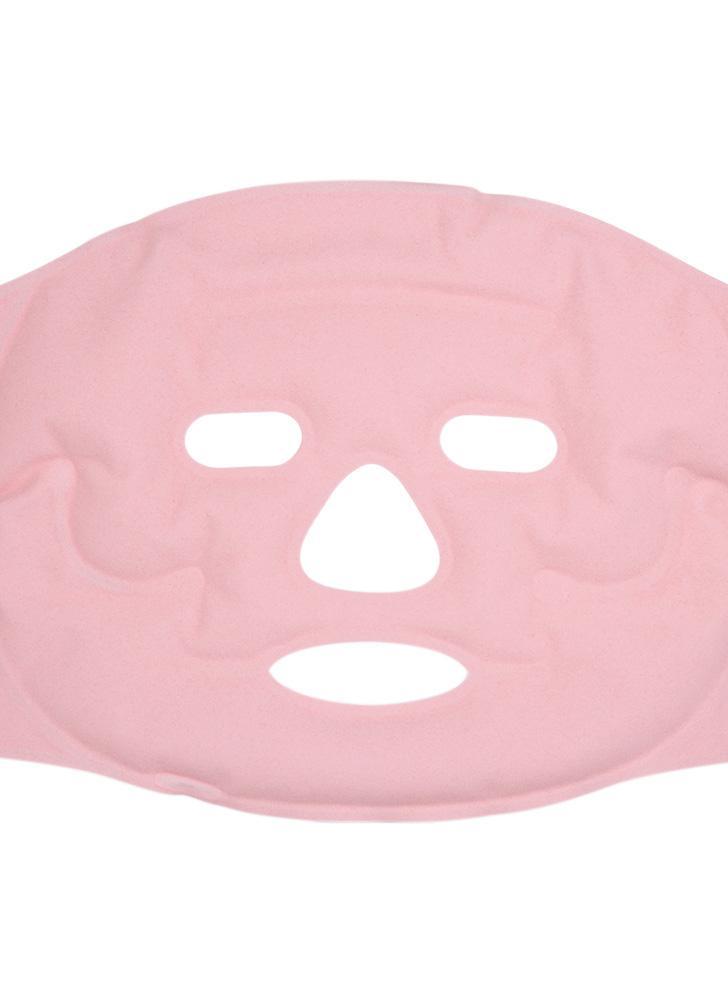 Cara caliente y fría Máscara de gel Terapia facial Microwavable Freezable Alivio reutilizable Cara hinchada Ojos hinchados Dolores de cabeza Migrañas