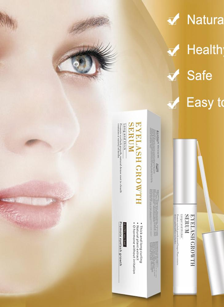 Eyelash Growth Enhancer Natural Eyelash Growth Serum Lash Booster