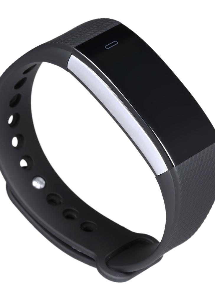 Fitness Tracker Smart Band Bluetooth Sport Braccialetto a braccialetto Pedometro di frequenza cardiaca Controllo del sonno Call / Message Alert