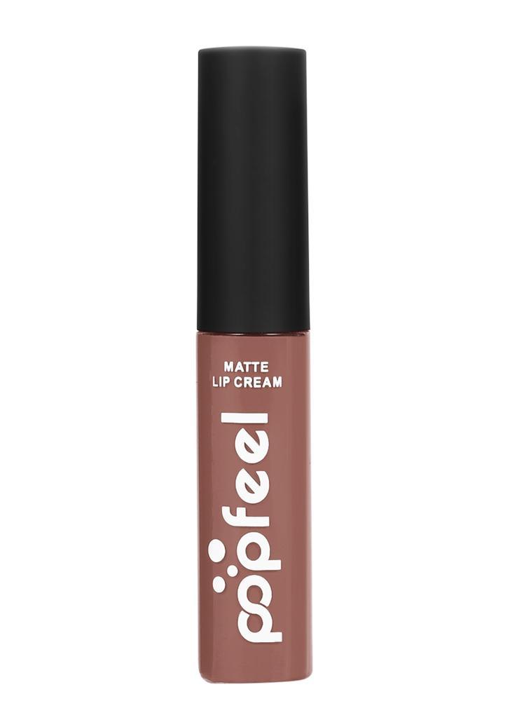 Popfeel 1Pc Matte Waterproof Long-lasting Hydratante Lip Stain 12 cores opcionais