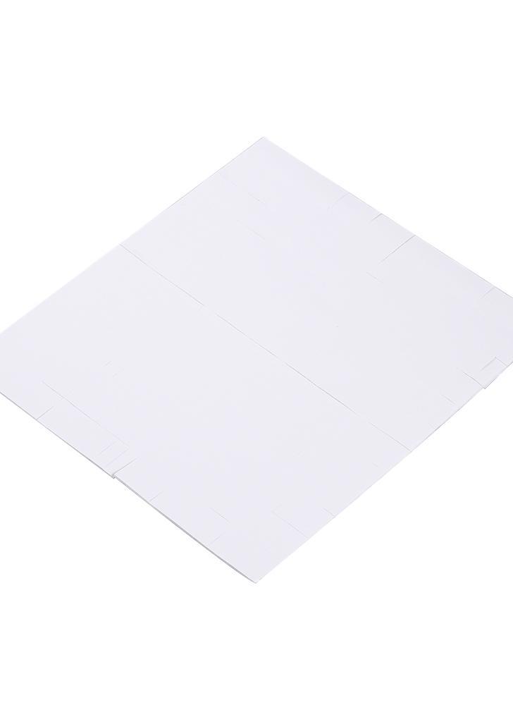 312 Pcs / Feuille Éponge Double-côté Adhésif Fixant Autocollant pour Nail Gel Polonais Affichage Carte de Couleur Livre Nail Art Outil