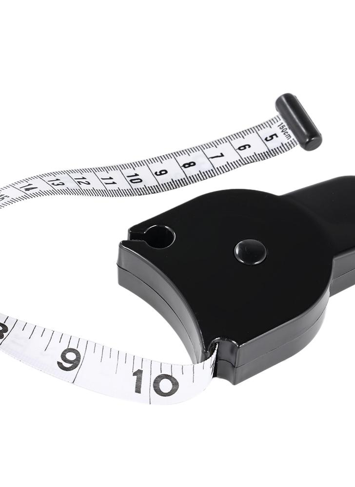 80mm Skinfold Body Fat Caliper Set Body Fat Tester Body Skinfold Measurement Tool with Measure Tape