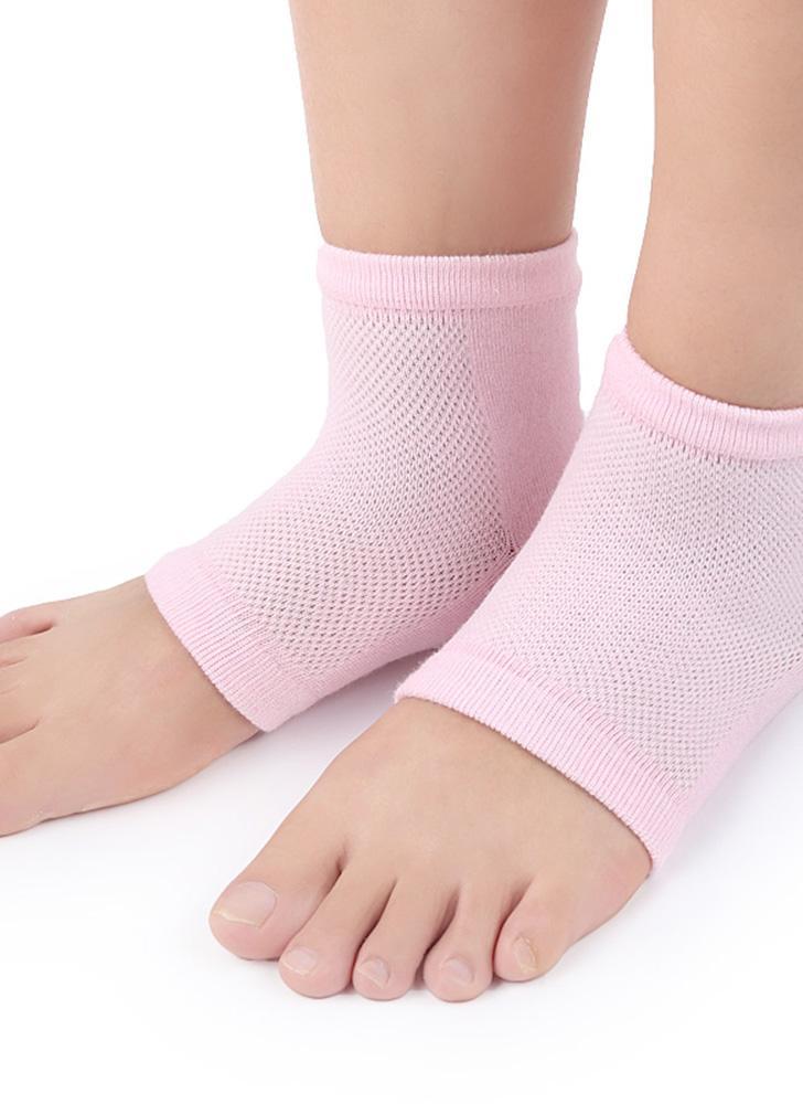 1Pair Gel Socks Moisturing Spa Pés Cuidados com o produto Cracked Heels Foot Care