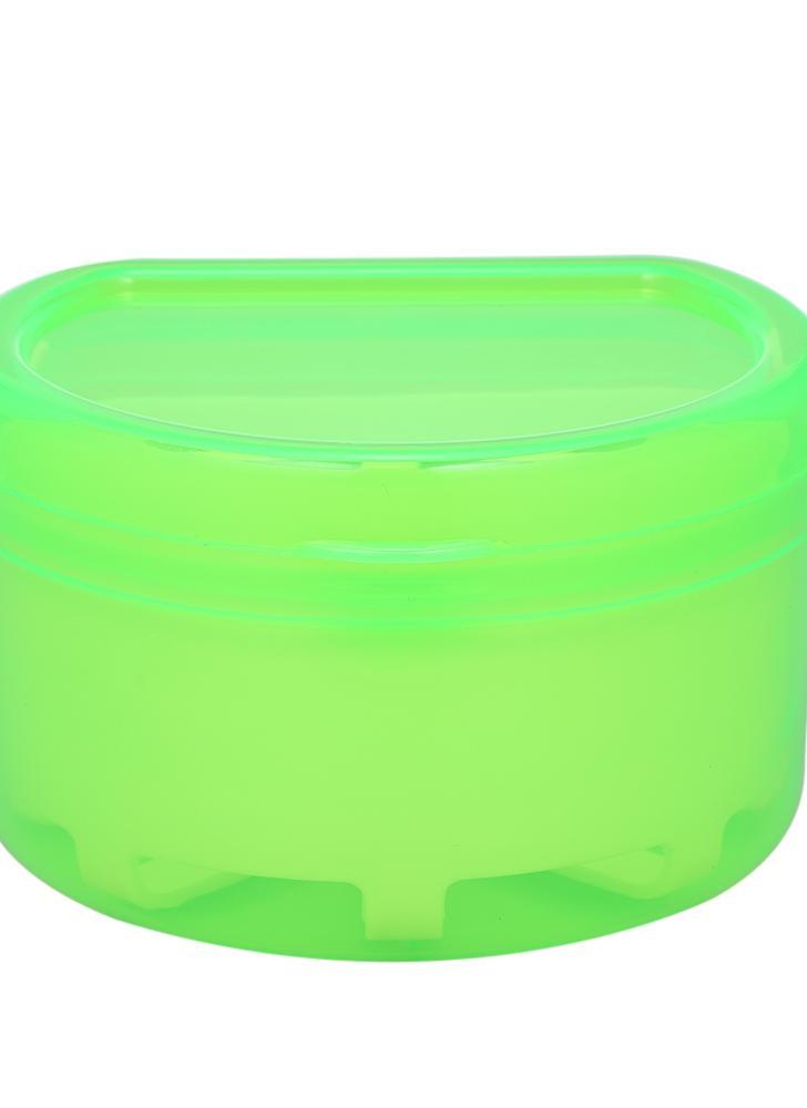 1Pc Чехол для зубных протезов Чехол для зубных протезов Ложная зубная щетка для зубных протезов Контейнер для хранения контейнеров