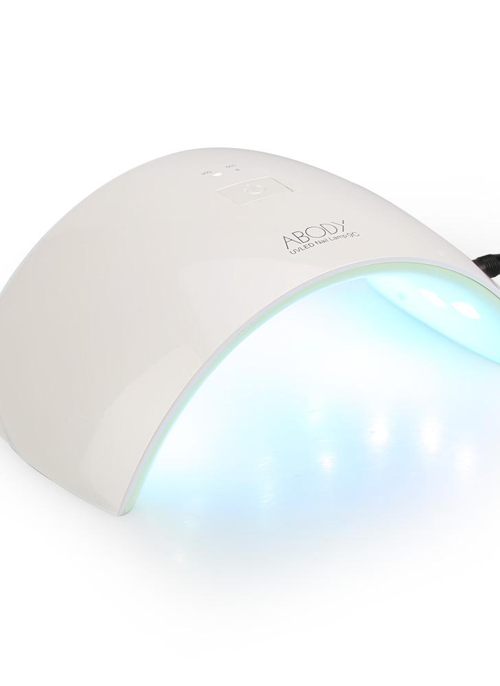 Abody LED-UV-Lampen-Nagel-Gel-Trockner Fingernail & Toenail Gel Curing White Light-Nagel-Kunst-Malerei-Salon-Werkzeug 24W US-Stecker
