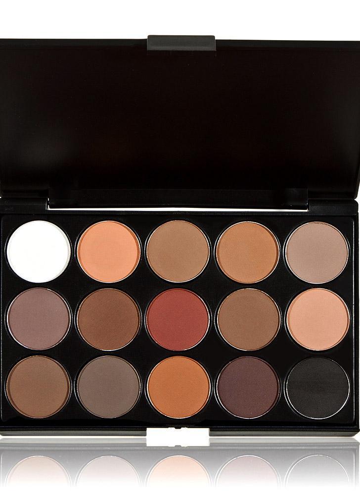 Anself Desnudos Neutral Profesional 15 Colores Cosmético Maquillaje Caliente Paleta Sombra de Ojos