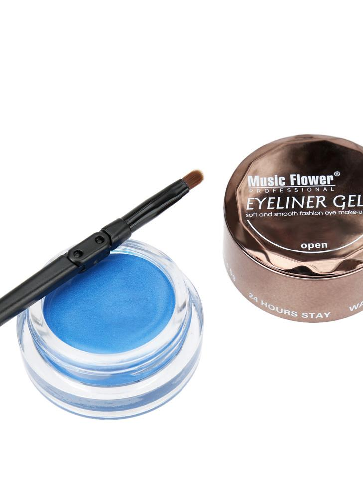 Professional Makeup Eyeliner Gel Cream with Brush