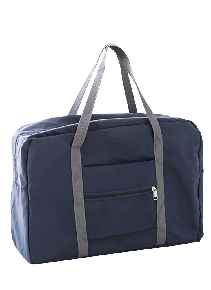 Travel Bag Large Capacity Men Foldable Waterproof Hand Luggage Nylon Traveling Duffle Bags Unisex Weekend Bags Multifunctional Women Folding Handbags Travel Bags  Pink