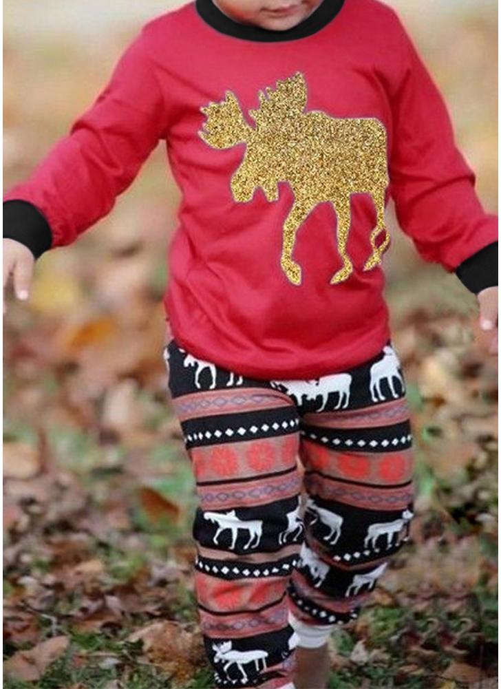 Kinder Weihnachten Familie Look Pyjamas Größe 100