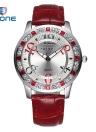 Rhinestone Bling-bling del cuarzo de la manera de la alta calidad de la vendimia encajó el reloj de las mujeres