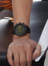 OCHSTIN Montre bracelet en quartz pour homme et homme en cuir véritable