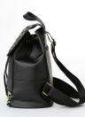 New Fashion Mini Bag Mulheres Feather Pattern Splice pequeno saco de viagem Mochila Black1 / Black2