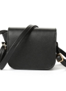 New Moda feminina Shoulder Bag PU Leathe Flap borla pingente sólida magnética snap Casual Crossbody Bag