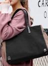 Mode Femmes Grand Sac à bandoulière en toile