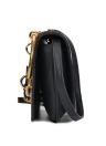 Women PU Leather Girls Metal Ring Bag