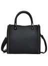 Fashion Vintage Women Desligado Color PU Leather Handbag