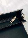 Elegant Women PU Crossbody Bag Sequined Tassel Adjustable Shoulder Strap Chain Shoulder Bags