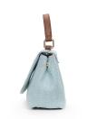 Moda Feminina Crossbody Bag Floral Borboleta Bordado Flap Frente Messenger Bag Ombro Saco Ocasional