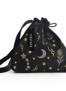 Frauen Velvet Bucket Bag Stickerei Drawstring Beutel Cute Shoulder Crossbody Taschen Burgund / Grau / Schwarz