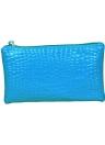 Новая мода женщин сцепления сумка крокодил лакированные запястье ремешок молния случайные портмоне