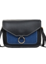 Moda Mulheres PU Bolsa de ombro de couro Crossbody Bag