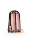 Mulheres Vintage PU Crossbody Bag lantejoulas cortadas sacos de ombro cadeia