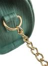 Cadeado feminino Cadeia de ombro Bolsa de ombro anel cruzado