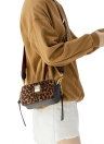 Girls Women PU Shoulder Crossbody Bag Suede Mini Handbag