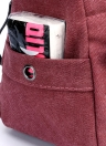 Bolsa de lona de moda feminina Bolsa de ombro casual