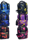 Camouflage Print Colorful Schoolbag Travel Bag