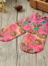 Nouveau Mode Femmes Chaussettes Mignon Imprimer Low Cut cheville respirante extensible Chaussettes Casual