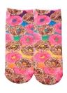 Cute Print Low Cut Stretchy Casual Socks