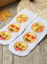 New Fashion Women Socks Cute Print Low Cut Ankle Breathable Stretchy Casual Socks