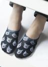 Новые Женщины Повседневная Low Cut носки Прекрасный животных печати дышащий Non-Slip Дизайн No-Show Liner Невидимые носки
