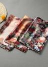 Las nuevas mujeres bufanda de seda de la impresión floral de la vendimia larga del mantón de Pashmina suave chica del Cabo