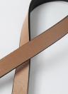 Nouveau Mode Femmes Ceinture en cuir Métal Vintage Slim Double Boucle ceinture sangle de ceinture
