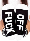 Fashion Letter Printed Unisex Slippers Socks