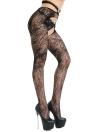 Frauen Strumpfhosen Netzstrumpfhose Sheer Lace Cut Out Body Strümpfe Dessous Strumpfwaren